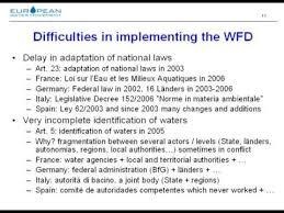 analyse critique de la directive cadre sur l eau fr