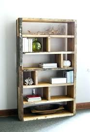Shelves Made From Pallets Wood Pallet Shelving Ideas