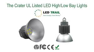 Induction Lamps Vs Led by Crater Led High Bay And Led Low Bay Lights From Led Trail Youtube