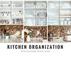 This is how I Organized my Kitchen Cabinets