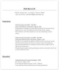Online Job Resume Template Sample Co Examples Vs Cv Quora