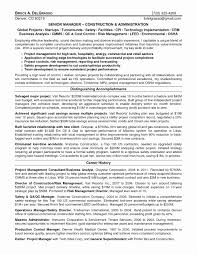 Beautiful 42 Awesome Construction Project Manager Resume Examples Graphics Program