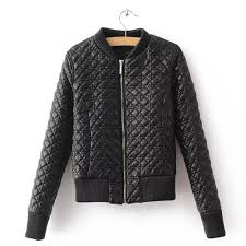 popular leather quilted coat buy cheap leather quilted coat lots