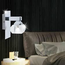 büromöbel 2er set led wand leuchten wohn zimmer lese len