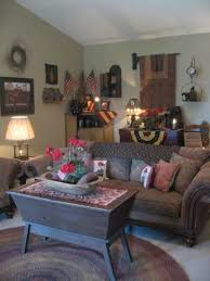 202 Best Primitive Livingroom Images On Pinterest Country Pertaining To Living Room Furniture Ideas 2