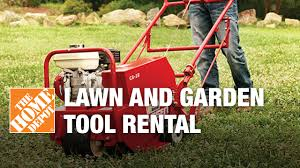 Lawn Tool Rental - The Home Depot - YouTube