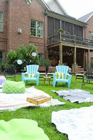 Abbys Sweet 16 Outdoor Movie Party