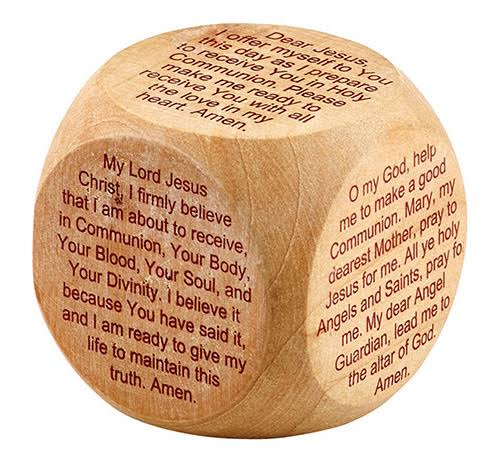 12 Christian Brands YD002 First Communion Prayer Cube ($1.27 @ 12 min)