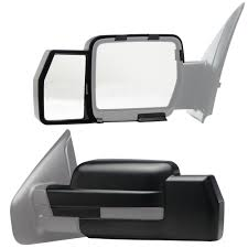 Snap & Zap Clip-on Towing Mirror Set For 2009 - 2014 Ford F-150 ... Semi Truck Mirror Exteions Elegant 2000 Freightliner Century Class Mir04 Universal Clip On Truck Suv Van Rv Trailer Towing Side Mirror Curt 20002 Passenger Side Towing Extension Extenders Fresh Amazon Polarized Sun Visor Extender For Best Mirrors 2018 Hitch Review Awesome Exterior Body Cipa Install Video Youtube Want Real Tow Mirrors For Your Expy Heres How Lot Of Pics Ford View Pair Set 0408 F150 2pc Universal Clipon Adjustable