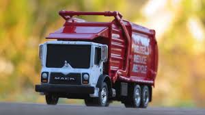 First Gear 1:87 Mack Terrapro Front Loading Refuse Truck Review ...