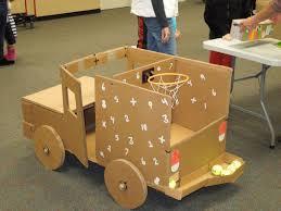 Hunt Club Creates A Cardboard Arcade For Annual Math And Reading Night