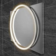 badezimmerspiegel solas hib größe 80 cm h x 60 cm b ausführung chromfarben