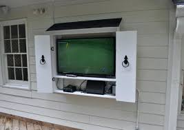 Cabinet Build An Outdoor Tv Cabinet Amazing Outdoor Tv Cabinet