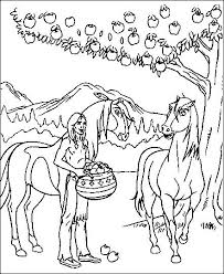 Coloring Pages Spirit The Wild Horse 6