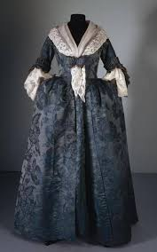 robe de chambre anglais robe à l anglaise c 1780 possibly reworked from an earlier gown