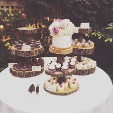 Complete Your Rustic Look On Wedding Day With Vintagebashs Abby 3 Tier Wooden Cupcake Stand Each Is Made From A Relatively Thick Slab And