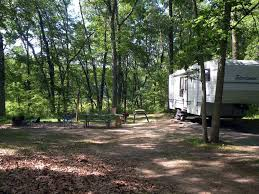 Campsite Travels With Hoosier National Forest U Cabs Rv Camping In The Woods An By Lake Flyg Jpg