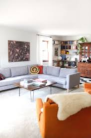 Karlstad Sofa Cover Isunda Gray by Living Room Mid Century Living Room Sofas Style Ideas With