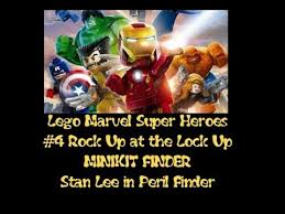 Lego Marvel Superheroes That Sinking Feeling 100 by Reach 100 Rock Up At The Lock Up Find Minikits And Stan Lee