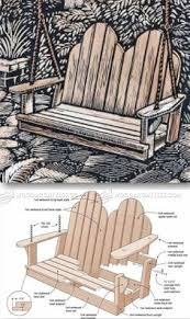 diy porch swing plans free woodworking plans and patterns
