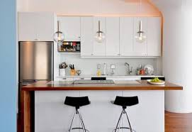 Kitchen Design For Small Apartment Fine Decorating Ideas Kitchens Home Cute