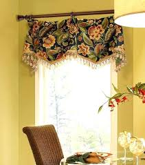 Dining Room Valances Valance Ideas Black Damask Goblet Pleated Smith In