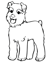 Coloring Pages Dog Color Printable Print This Page Dogs And Cat Free Online
