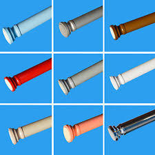 Spring Loaded Curtain Rod 300cm by Shower Curtain Rod Ebay
