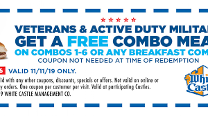 Veterans Day Restaurant Deals 2019: Free And Discounted ...