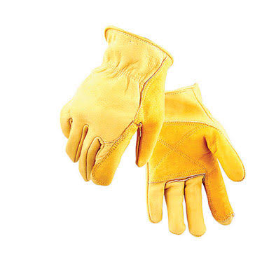 Golden Stag Gloves - Gold, X-Large