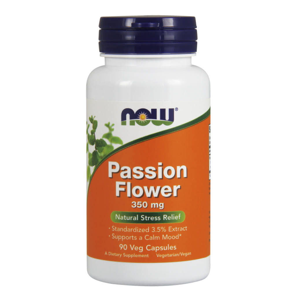 Now Foods Passion Flower 350 mg 90 Capsules