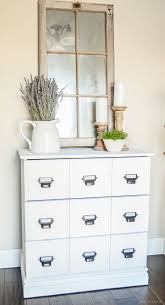 Tarva 6 Drawer Dresser by Diy Wood Dresser Card Catalog Ikea Hack Tutorial