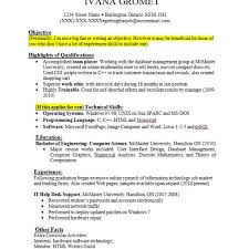 Job Experience R Ideal Resume Examples With No Work