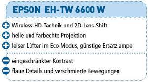 epson eh tw 6600 w test audiovision