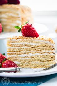 8 Layer Honey Cake Recipe Medovik