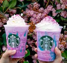 Photo Of Two Starbucks Unicorn Frappuccino