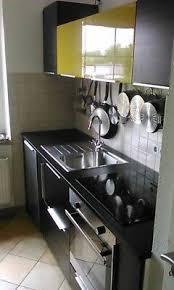 ikea metod küche mit front tingsryd schwarz gelb