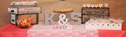 Rustic Elegant Bridal Shower Ideas