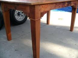 Wood Dining Tables Made In Usa Custom Table From Reclaimed