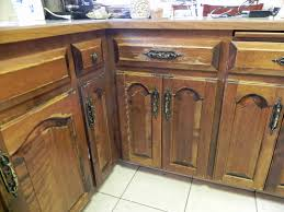 Remarkable Distressed Kitchen Cabinets TjiHome In How To Antique
