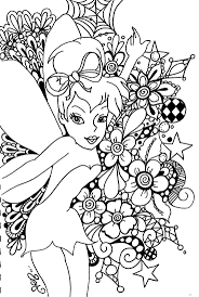 Online Coloring Pages Tinkerbell