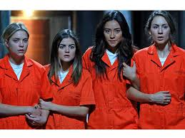 Pll Halloween Special Season 2 by Pretty Little Liars Shay Mitchell Sasha Pieterse Keegan Allen On A