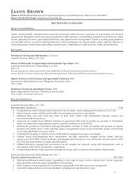 Science Resume Example Objective Political Examples