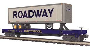 100 Roadway Trucking Tracking 2095277 MTH ELECTRIC TRAINS