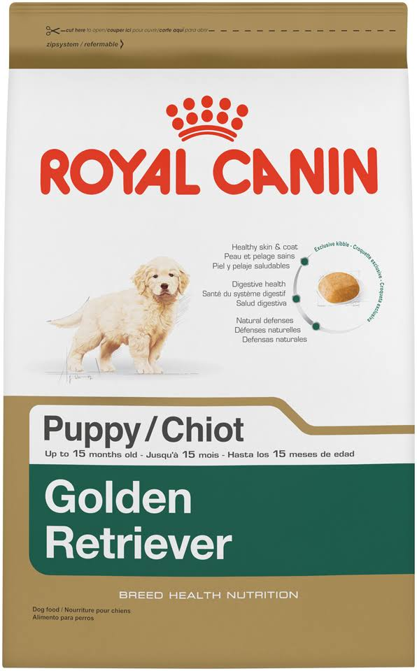 Royal Canin Golden Retriever Puppy Dog Food - 30lbs