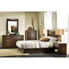 South Shore Step One Dresser Instructions by Step One Contemporary Bed Frame Queen Chocolate Brown Beds
