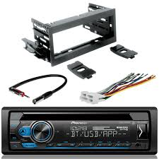 100 Truck Stereo Pioneer DEHS4100BT Single DIN Bluetooth InDash CDAMFM Car
