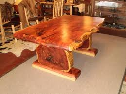 Homemade Cedar Tables Big Furniture