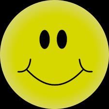 Yellow Happy Face Smiley Smiling Smile Smi