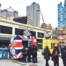 So Downtown Brooklyn Basically Won The Food Truck Game With Old ... American Food Trucks United San Diego Lovecoffeenyc Twitter Brooklyn New York May 22 Customers Stock Photo 100 Legal Vablonsky Ecuadorian In Queens Food Trucks Dumbo Brooklyn Ny 59808107 Alamy The Worlds First Truck Drivein Nyc Fim Festival Part Truck Msp365 Vendy Plaza And Openair Marketplace Returns Am New York Twin Cities Hitting Streets Here Are Our Top Picks Newest Classiest On The Block Neapolitan Express Letter Grades Coming To City Carts Abc7nycom